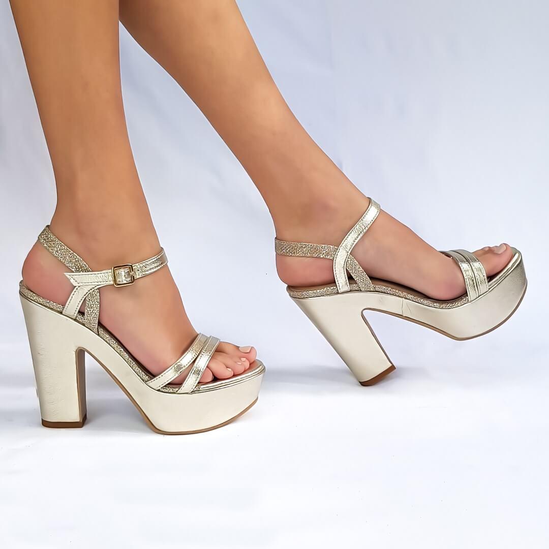 נעלי פלטפורמה 400135