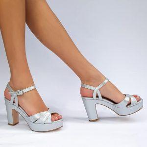 נעלי כלה פלטפורמה 400120
