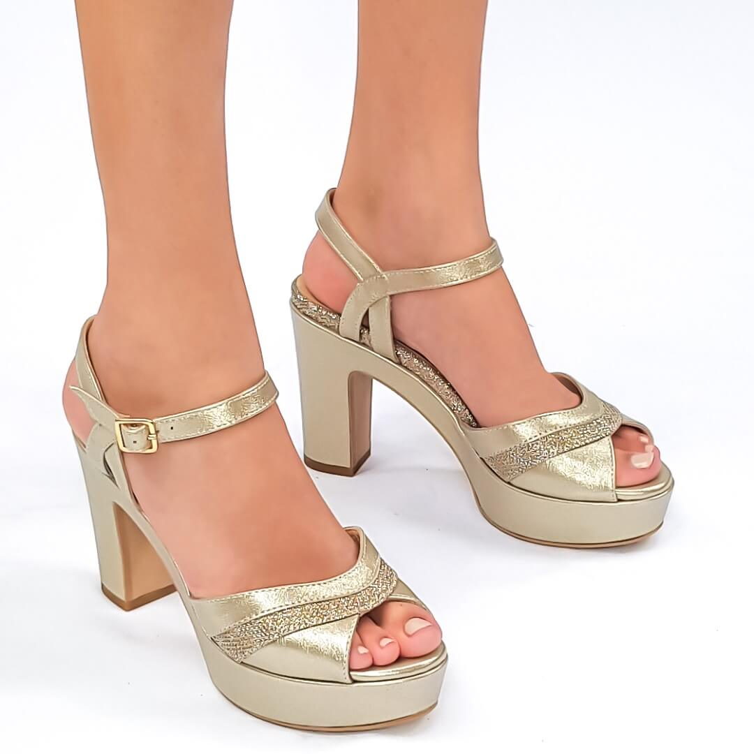 נעלי כלה פלטפורמה 400130